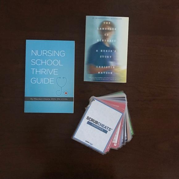 Other - Nursing School Books & Scrubcheats